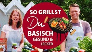 Basisch grillen – vegetarisch, gesund und lecker!