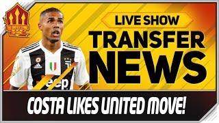 Man Utd Want Douglas Costa! Man Utd News
