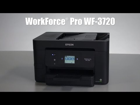 WorkForce Pro WF-3720 All-in-One Printer | Inkjet | Printers | For