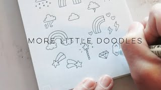 More Little Doodles! Weather, Space & Nature Doodles | Doodle With Me