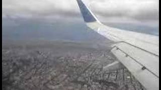Aterrizaje en Mexico