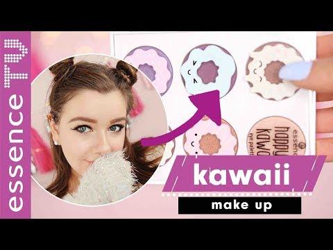 essence trend edition happy kawaii make up tutorial 🍭