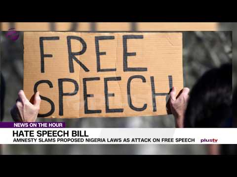 Amnesty Slams Proposed Nigerian Law As Attack On Free Speech