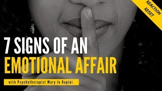 7 Signs of an Emotional Affair