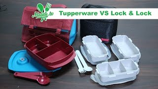 Tupperware VS Lock & Lock