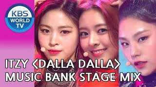 ITZY(있지)   DALLA DALLA(달라달라)[Music Bank Stage Mix Ver.]