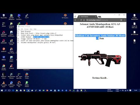 Video Cara mendapatkan senjata pb garena gratis 2017