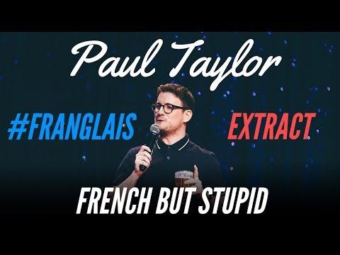 Paul Taylor mluví francouzsky bez přízvuku