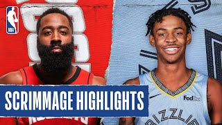 ROCKETS At GRIZZLIES | SCRIMMAGE HIGHLIGHTS | July 26, 2020