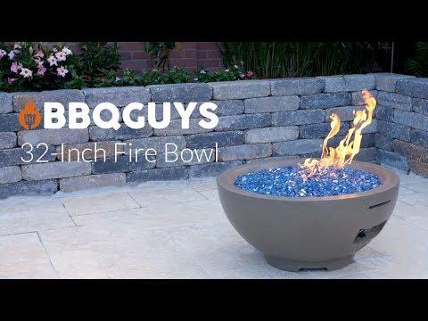 BBQGuys 32 Inch Fire Bowl-Smoke