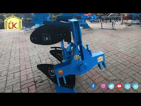 Gujrat Model Two Bottom Hydraulic Plough