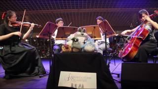 もののけ姫 Mononoke Hime Princess Mononoke  Joe Hisaishi  Arpeggione String Quartet Singapore
