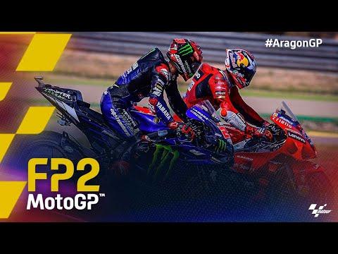 MotoGP 2021 第13戦アラゴンGP フリー走行2ハイライト動画
