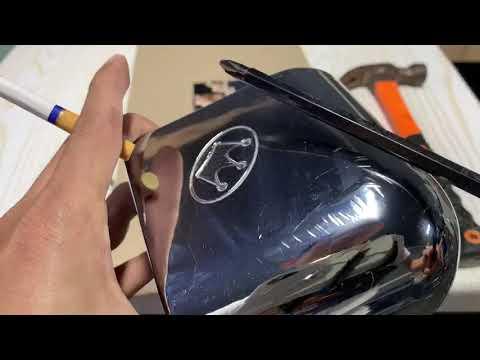 Video 2 : khả năng chống trầy trên bộ góc mới bàn bida sản xuất bởi cty Billiards Hoàng Gia.