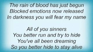 Dream Evil - Vengeance Lyrics
