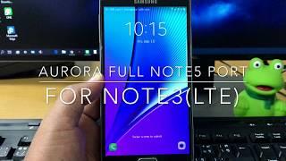 ROM Infinity Special Edition V1 Note 3 N900V/N900T/N900W8/N900P
