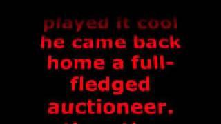 The Auctioneer - Leroy Van Dyke (With Lyrics)