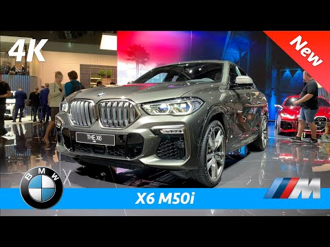 BMW X6 M50i 2020 - FIRST exclusive look in 4K | Interior - Exterior