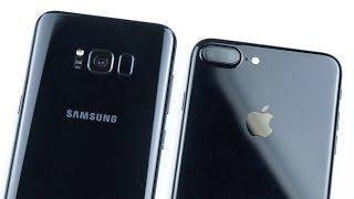 Сравнение камер Galaxy S8+ и iPhone 7 Plus - почему камеры самое важное в смартфонах в 2017?