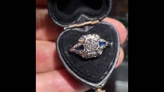 Antique Engagement Rings - Estate Jewelry