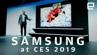 Samsung press conference at CES 2019 in 8 minutes