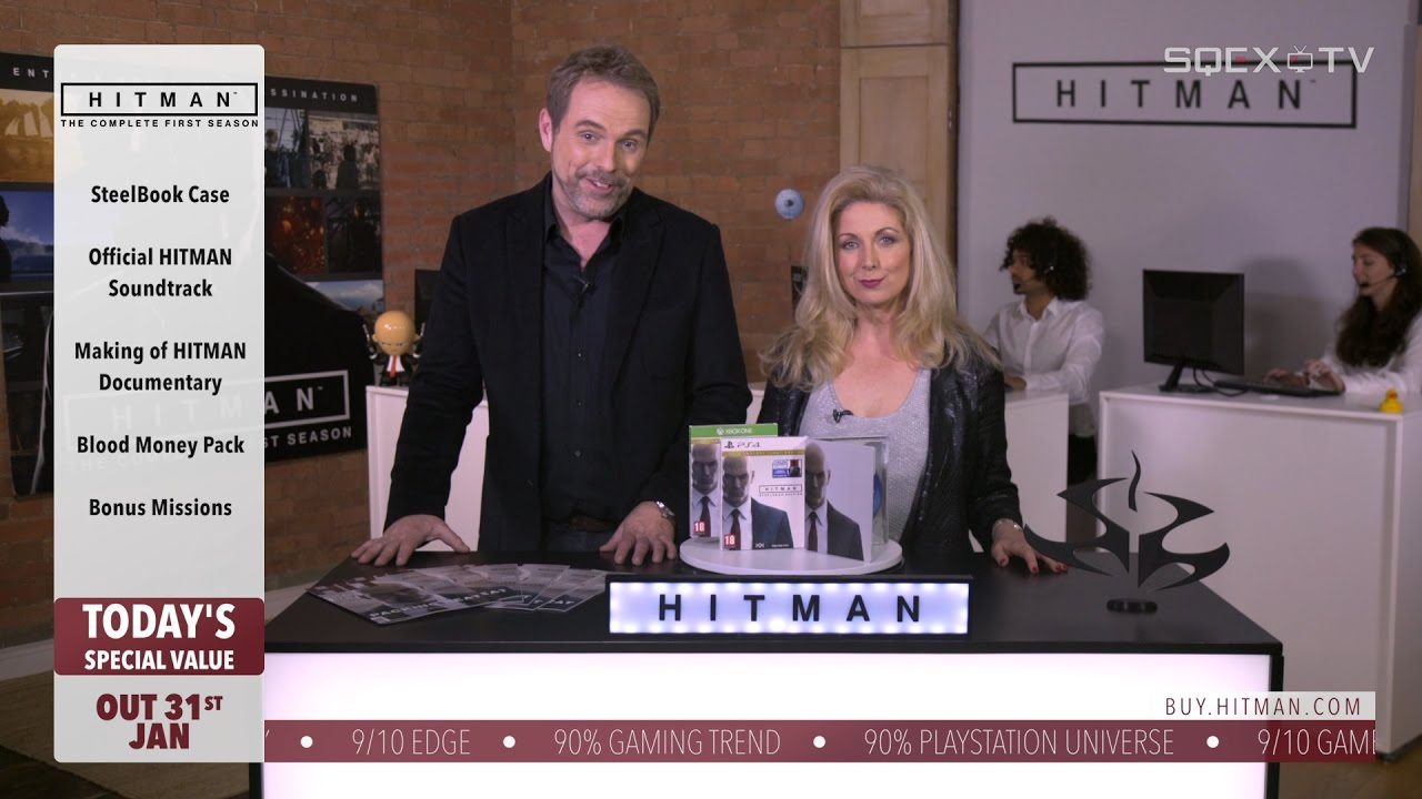 HITMAN – What's In The Box *AS SEEN ON TV*