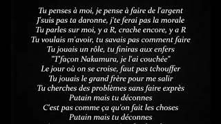 Aya Nakamura - Djadja Lyrics on Screen French lyrics