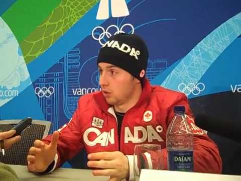 Olympic moguls champion Alexandre Bilodeau Interview - February 14, 2010