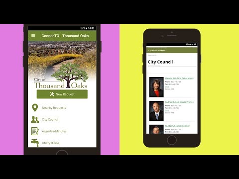 , title : 'ConnecTO Mobile APP - City of Thousand Oaks