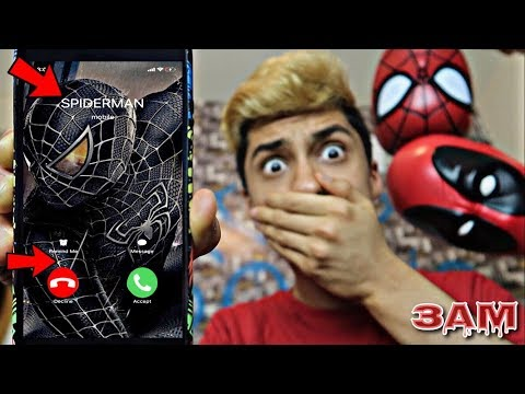 DO NOT CALL SPIDERMAN AT 3AM!! *OMG HE CAME TO MY HOUSE*