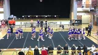 LHS Floor Routine Moscow Cheer Comp 2013