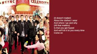 N'Sync: 01. Pop (Lyrics)