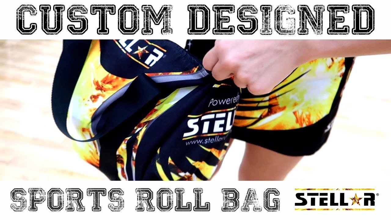 Custom Designed Sports Roll Bag