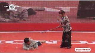 Hài Quang Tèo - GIang Còi bị vợ đánh lòi cả chuối  Cười vỡ cả bụng