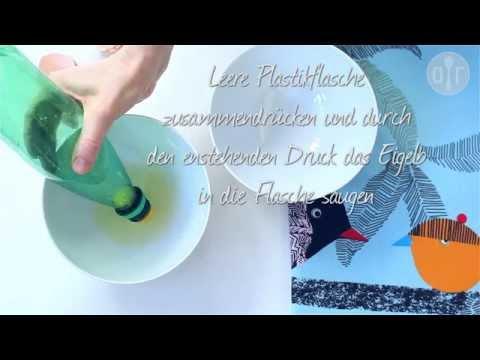 Eier trennen mit 4 verschiedene Methoden - Flasche, Hand, Schale und Trichter