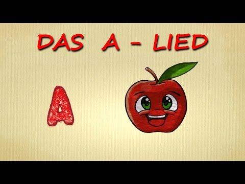 Buchstaben lernen deutsch - das A-LIED - ABC song für Kleinkinder - Phonics Song Letter Sounds
