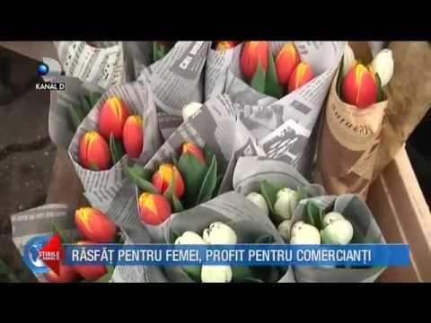 Stirile Kanal D (08.03.2018) – Rasfat pentru femei, profit pentru comercianti! Editie COMPLETA