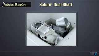 Saturn Dual Shaft Shredder - Metal Scrap