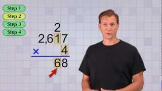 Math Antics - Multi-Digit Multiplication Pt 1