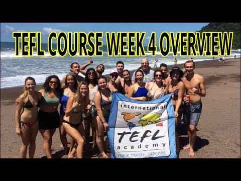 4-Week TEFL Course Breakdown-WEEK FOUR