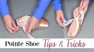 Pointe Shoe Tips & Tricks   Kathryn Morgan