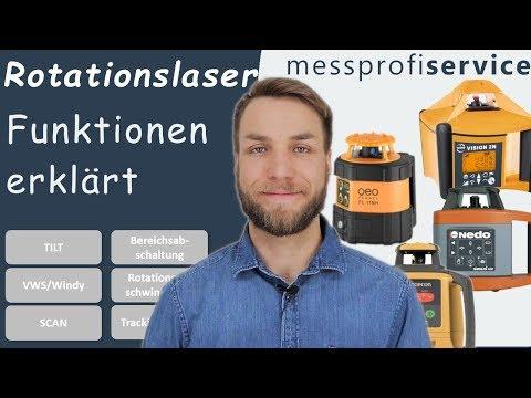 Rotationslaser Funktionen erklärt | messprofiservice