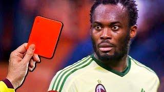 12 СМЕШНЫХ и глупых красных карточек в футболе