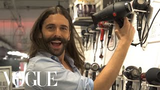 Queer Eye's Jonathan Van Ness Shops for Beauty Products | Vogue - Video Youtube