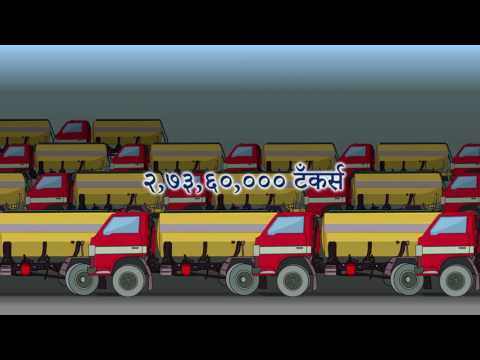 Water Cup 2017 Creates Enormous Water Storage Capacity (Marathi)