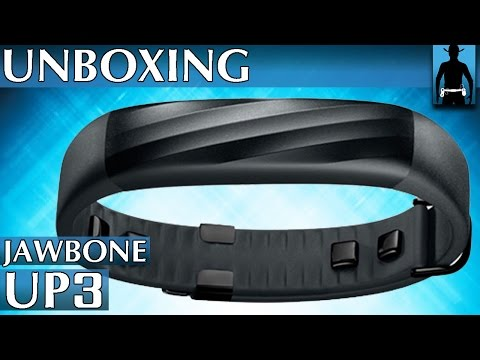 Jawbone Up3 Fitness Armband (Activity Tracker)  Unboxing [deutsch]
