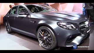 2017 Mercedes AMG E63 S Edition 1 - Exterior and Interior Walkaround -  Debut at  2016 LA Auto Show