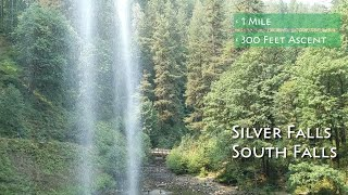 Video review of the Silver Falls South Falls Loop with footage of it's features and terrain.