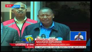 Weekend at One: Interior CS Ole Nkaissery confirms the explosions death toll to 39 people