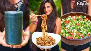 3 FULLYRAW VEGAN MEALS YOU NEED TO TRY!